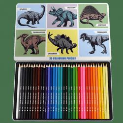 Rex london zestaw 36 kredek ołówkowych dinozaury