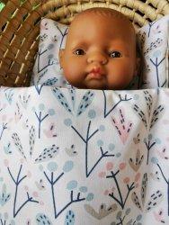 Olimi, pościel dla lalki, kaktusowe bazie