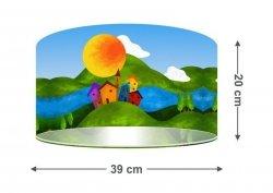 Macodesign, lampa wisząca, malowana dolina