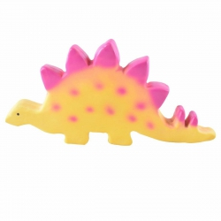 Tikiri, gryzak zabawka kauczukowa stegozaurus