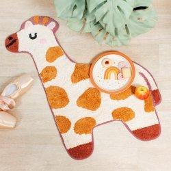 Sassandbelle, bawełniany dywanik, żyrafa