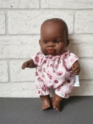 Olimi, ubranko dla lalki Miniland 21cm, rozetki
