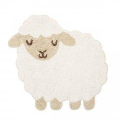 sassandbell, bawełniany dywanik, owieczka