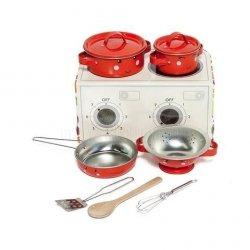 Sass&bell, mini kuchenka, zestaw garnuszków, vege