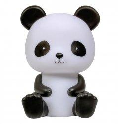 ALLC, lampka nocna, z wyłącznikiem czasowym,  panda