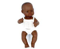 Miniland, dziewczynka Afrykanka, 32cm