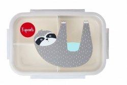 3 sprouts, lunch box z przegródkami, leniwiec
