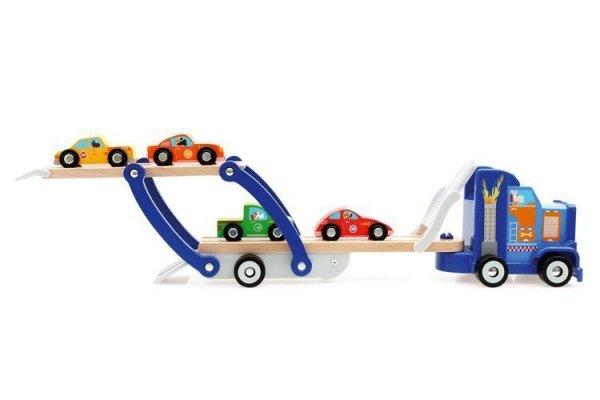 Scratch, laweta z 4 autkami,