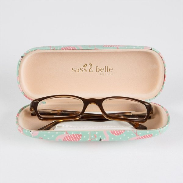 Sass&bell, etui na okulary, flamingi