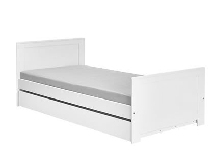 Pinio, łóżko Blanco, 200x90cm