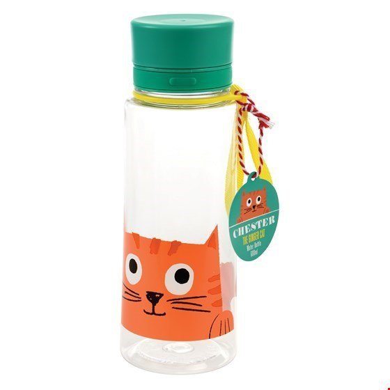 Rex, butelka na wodę, kotek, 600 ml,
