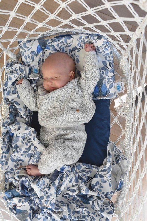 Cuddle Dreams, otulacz bambusowy - Ptaki, duży