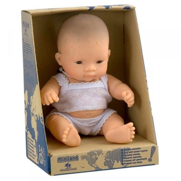 lalka chłopiec, Azjata, 21cm, Miniland