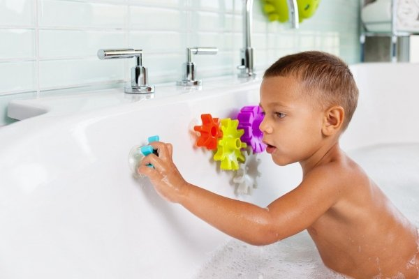 Boon, zabawka do kąpieli, zębatki