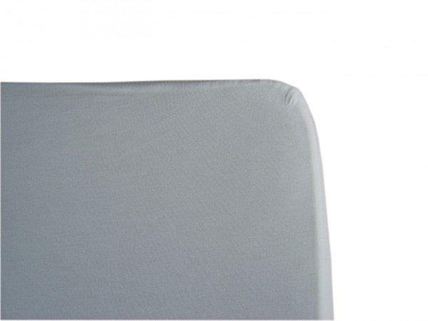 malooni, komplet 2szt., prześcieradło z gumką, 120x60cm, jersey,, białe + drukowane