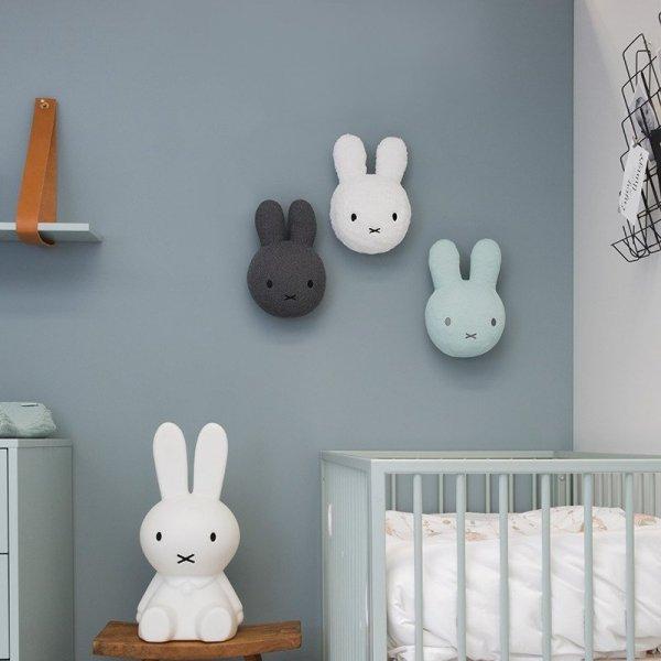 Miffy Tiamo, głowa Miffy na ścianę, miętowa