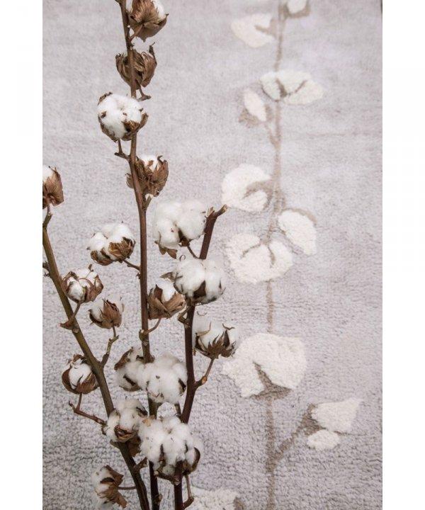 Lorena Canals, dywan bawełniany, cotton bolls, 120x170cm
