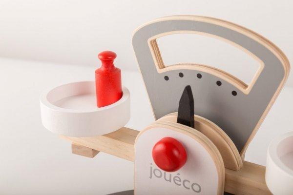 Joueco, drewniana waga sklepowa