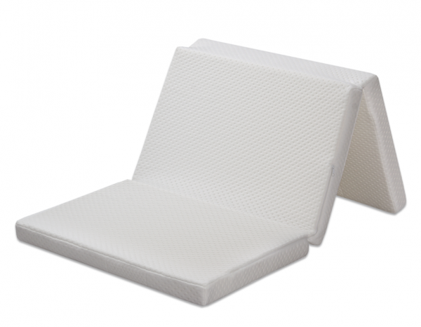 Fiki Miki, materac turystyczny, do ćwiczeń, 120x60cm, biały