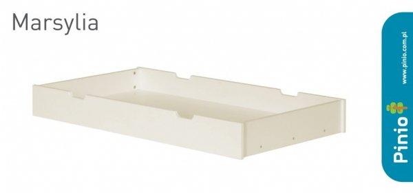 Pinio, szuflada drewniana, Marsylia, pod łóżeczko 120x60cm