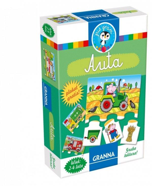 Granna, puzzle 4 elem., AUTKA