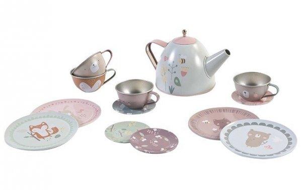 Little Dutch, metalowy zestaw Tea set, adventure
