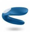 Satisfyer Partner Whale - wibrator dla par (niebieski)