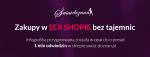 Zakupy w SEX SHOPIE bez tajemnic - infografika