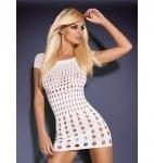 Rocker short sukienka biała S/M/L