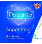 Prezerwatywy Pasante - Super King (1 op. / 3 szt.)