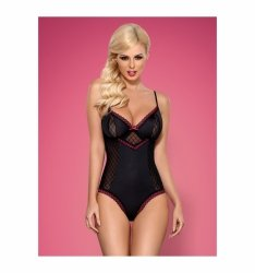 Obsessive 819-TED-1 body czarne L/XL