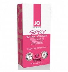 System JO For Her Clitoral Stimulant Warming Spicy 10 ml - żel do stymulacji łechtaczki na bazie silikonu