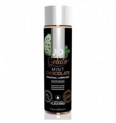System JO Gelato Mint Chocolate Lubricant Water-Based 120ml - lubrykant na bazie wody o smaku miętowej czekolady