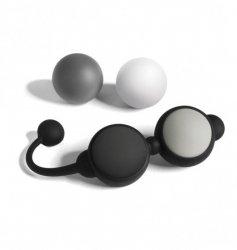 Kulki gejszy 50 twarzy Greya Beyond Aroused (czarny, szary, biały)