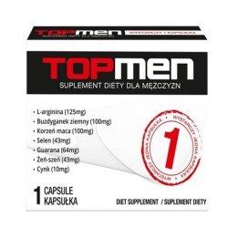Top Men 1 kapsułka (tabletka) na silniejszy orgazm u mężczyzn