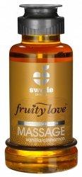 Swede Fruity Love Massage - owocowy żel do masażu 100 ml (wanilia - cynamon)