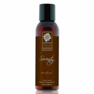 Sliquid Balance Massage Serenity 125 ml - olejek do masażu (wanilia)
