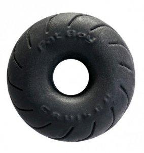 Perfect Fit SilaSkin Cruiser Ring (czarny) - pierścień na penisa