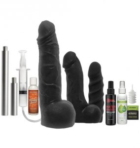 Kink by Doc Johnson zestaw dild Power Banger Cock Collector Accessory Pack 10 Piece Kit