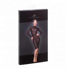 F182 Classic dress made of elastic tulle S