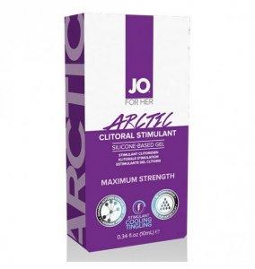 System JO For Her Clitoral Stimulant Cooling Arctic 10 ml - lubrykant chłodzący na bazie silikonu dla kobiet