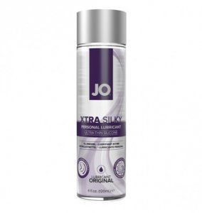 System JO Xtra Silky Thin Silicone Lubricant 120ml - lubrykant na bazie silikonu
