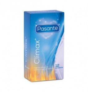 Pasante Climax - Prezerwatywy rozgrzewające/ chłodzące (1op./12 szt.)