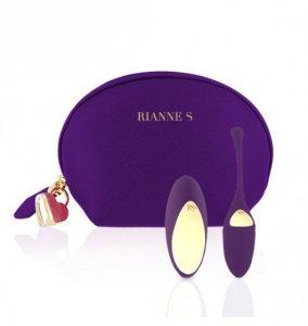 Rianne S Essentials Pulsy Playball - Wibrujące Jajko (głęboki fiolet)