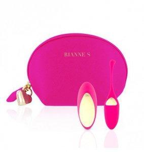 Rianne S Essentials Pulsy Playball - Wibrujące Jajko (różowy)