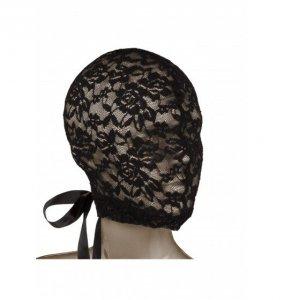 Scandal Corset Lace Hood - sex maska koronkowa