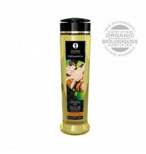Shunga Natural Massage Oil Organica Almond Sweetness 240ml - olejek do masażu (o zapachu migdałowym)