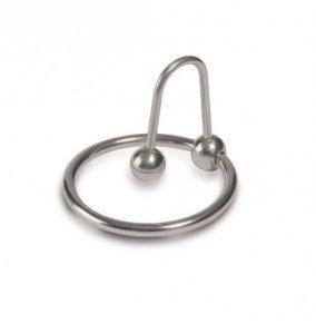 Titus Range: Sperm Stopper 25mm - pierścień na penisa z kulką