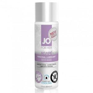 System JO For Her Agape Lubricant Cool 60 ml - chłodzący lubrykant na bazie wody dla kobiet