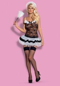 Obsessive Housemaid kostium 5-częściowy  S/M